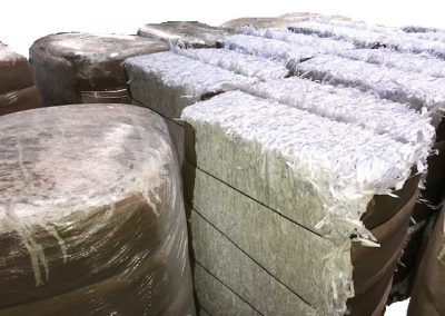 Shredded Paper Bales (available in 25kg and 120 kg bales)