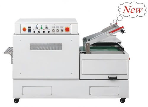 DFS450 Continuous seal-cut-shrink machine