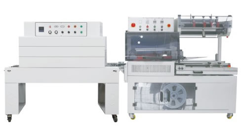 Automatic L sealer and shrink tunnel
