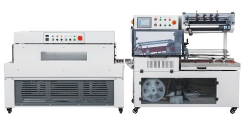 High speed automatic L sealer and shrink tunnel
