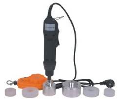 Portable electric capper