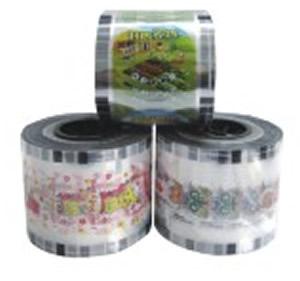 Cup sealing film