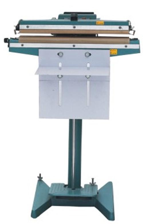 Foot stamping sealing machine