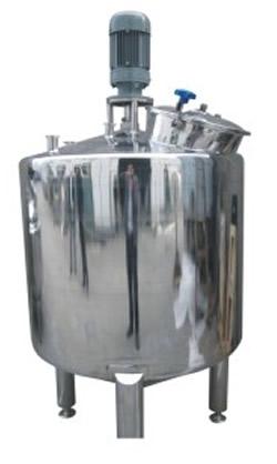 Mixing tank, full seal, single jacket