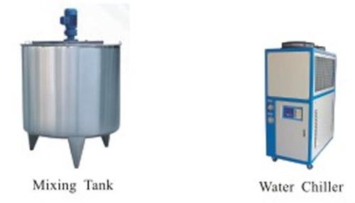 Mixing tank & Water chiller