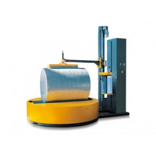 GP2000R Reel Wrap Machine with top plate